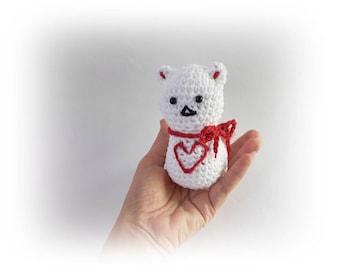 Cat crochet amigurumi cat Mini crochet plush cat Stuffed Animal Cat Toy Crochet small cat Lovers cat crochet animal