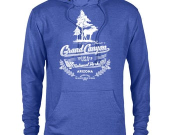 Grand Canyon National Park Moose Adventure Unisex French Terry Hoodie