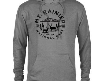 Mount Rainier National Park Adventure Unisex Hoodie