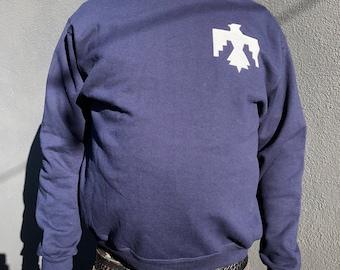 Navy Thunderbird Crewneck Sweatshirt