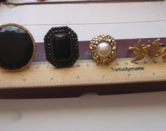 Lot of Vintage Costume statement rings. 1960 to 1980 VINTAGE