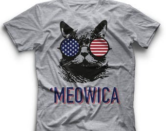 USA Meowica Tee Meowica Tee Shirt USA Meowica Shirt 4th July Meowica Tee Womens Meowica Tee Meowica Tee Meowica Shirt USA Meowica Clothing