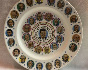 Presidents of the United States Collector Plate - John F Kennedy (#043)