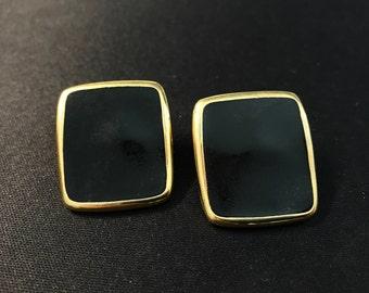 Monet Gold Tone Earrings, Monet Earrings, Vintage Earrings, Monet Jewelry, Clip on Earrings, Vintage Monet, Earrings, Monet Clip on Earrings