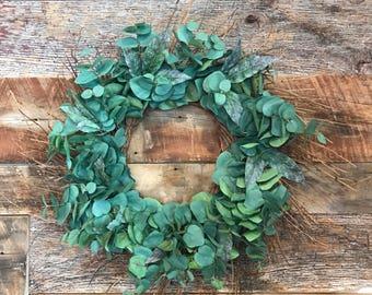 Eucalyptus Twig Wreath