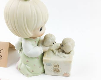 Vintage Precious Moments 1989 Symbol Of Membership Always Room For One More Figurine  C-0009