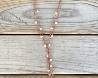 long necklace w danglies!!