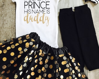 Fathers Day bodysuit, Found My Prince, Daddy shirt, Fathers Day Girl, Custom Onesie, Fathers Day Shirt