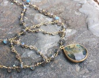Magic Labradorite Necklace