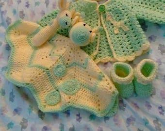 Baby Layette Giraffe Full Set