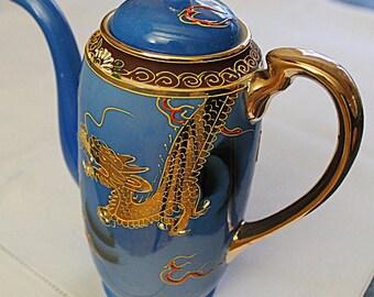 Japanese Porcelain Tea/Hot Water Pot Hand painted