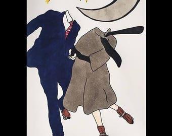 Surrealism Ilustrated Art Print