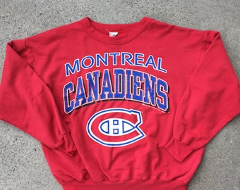 1993 Montreal Canadiens Pullover Sweater
