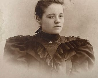1890's | Womens Portrait | Black & White