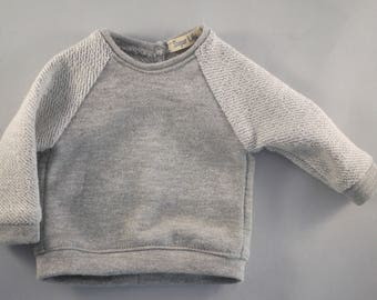Fleece Metallic Yarn Sweatshirt