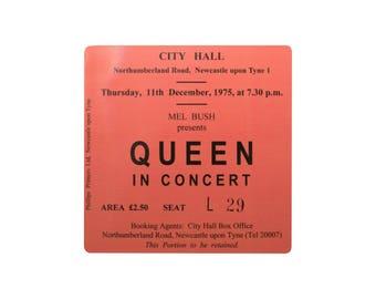 Coaster. queen. Newastle City Hall. Newcastle