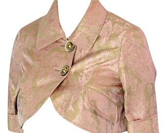 1980s T.E Peach Bolero Jacket