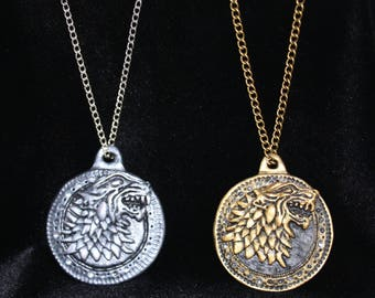 Stark Medallion. Game of Thrones