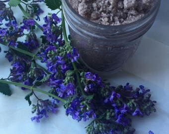 Vegan Lavender Tea Tree Sugar Scrub