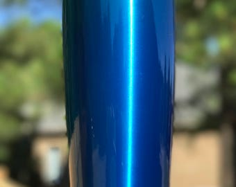 Blue Powder Coated Yeti/Insulated Tumbler/Powder Coat/Blue Yeti/Birthday Gift/Glitter Yeti/Custom Yeti/Yeti Cup/Yeti Tumbler/Personalize