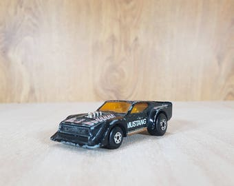 Matchbox - Matchbox car - Matchbox 1983s - IMSA MUSTANG - Collectible Car - Vintage Vehicles - Made in Macau.