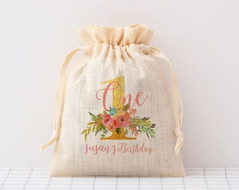custom printed drawstring bags Personalized Baby Shower favor Bag candy packaging bags custom cotton party favor bags gift packaging bag