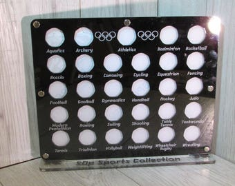 Coin Display Case Etsy