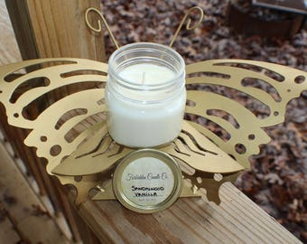 Sandalwood Vanilla 8oz Soy Candle