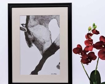 Horse Giclée Print