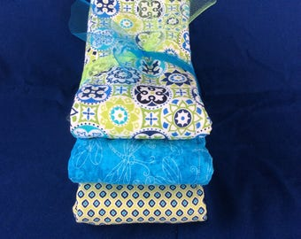 FREE US SHIPPING, Burp Cloths, Burp Rags, Burp Towels completely finished on both sides, Premium 6-ply + 2 cotton layers Burp Cloths