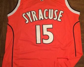 4894ef786 ... College Throwback Beast Beat Jersey Free Shipping Carmelo Anthony  Syracuse Orange Extra Large adult jersey Thunder ...