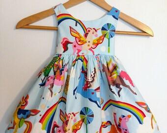Unicorn dress, unicorn baby dress, unicorn toddler dress, first birthday unicorn dress, birthday unicorn dress, unicorn birthday party,