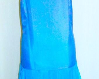 Blue Vintage Slip Dress