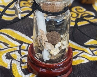 Magic Wicca Spell Sage Jar Guidance
