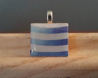 Nautical Stripes! -- Charm Necklace