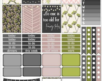 Fairytale Printable Planner Kit