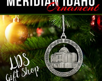 Meridian Idaho LDS Temple Ornament