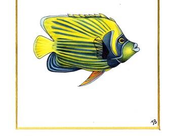 Animal Art: Personalised Gift   Original Drawing   Science Wall Art   Biology Art   Custom Portrait   Science Art   Biology   Pastel