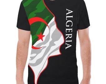 Algeria Men's Classic Flag Shirt 2.0