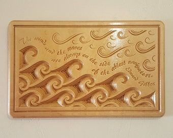 The Ablest Navigators - Wooden Carved Inspirational Quote Wall Plaque