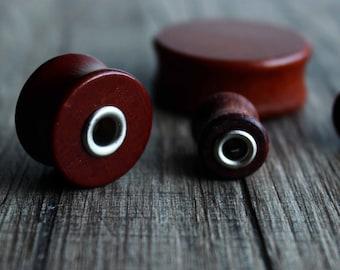 00g ear gauges plugs and tunnels plugs earrings tunnel earrings 10mm,12,14,16,18,20,22,25,30 mm 3/8,1/2,9/16,5/8,11/16,13/16/7/8,1,1 3/16y