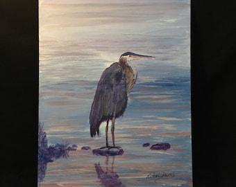 Blue Heron on Lake Dillon