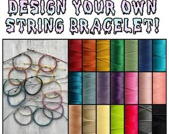 Design Your Own Costa Rican String Surf Bracelet!
