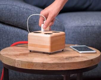 Wooden Socket Maple (powerbox)