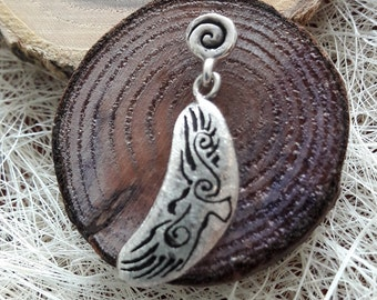 """Earring Eagle, """"spirit"""", 925 sterling silver, available as earring or charm"""