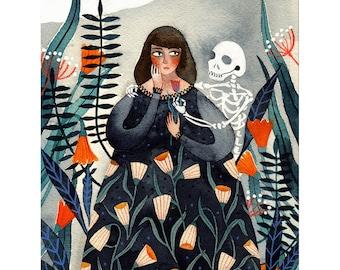 Till Death Do Us Part? - Giclée Art Print