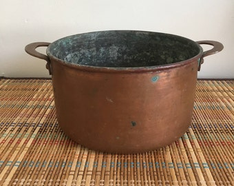 Very Old Copper Pot