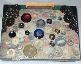 Dice Box, Steampunk Purse, Jewelry Box, Anything Box, Boho Box