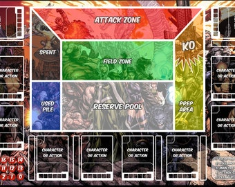 Dice Masters Playmat: X-Men (14 x 24)