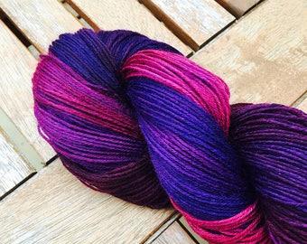 Hand Dyed Yarn, 4ply Yarn, Hand Dyed Superwash Yarn